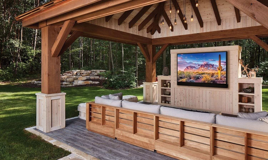 Overhaul Your Outdoor Space with a High-End AV System