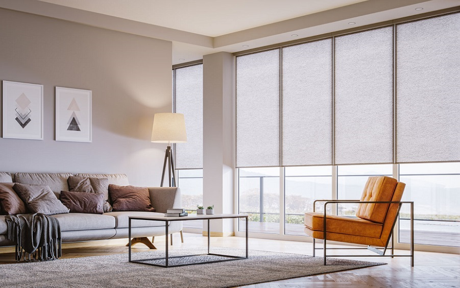 Take Control of the Heat and Light with Motorized Shades